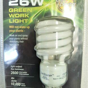 Green Work Light